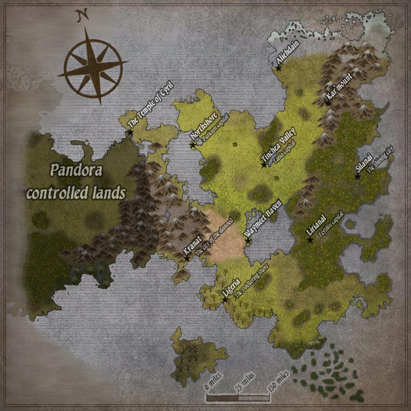 Map Of Eden by Dosrev