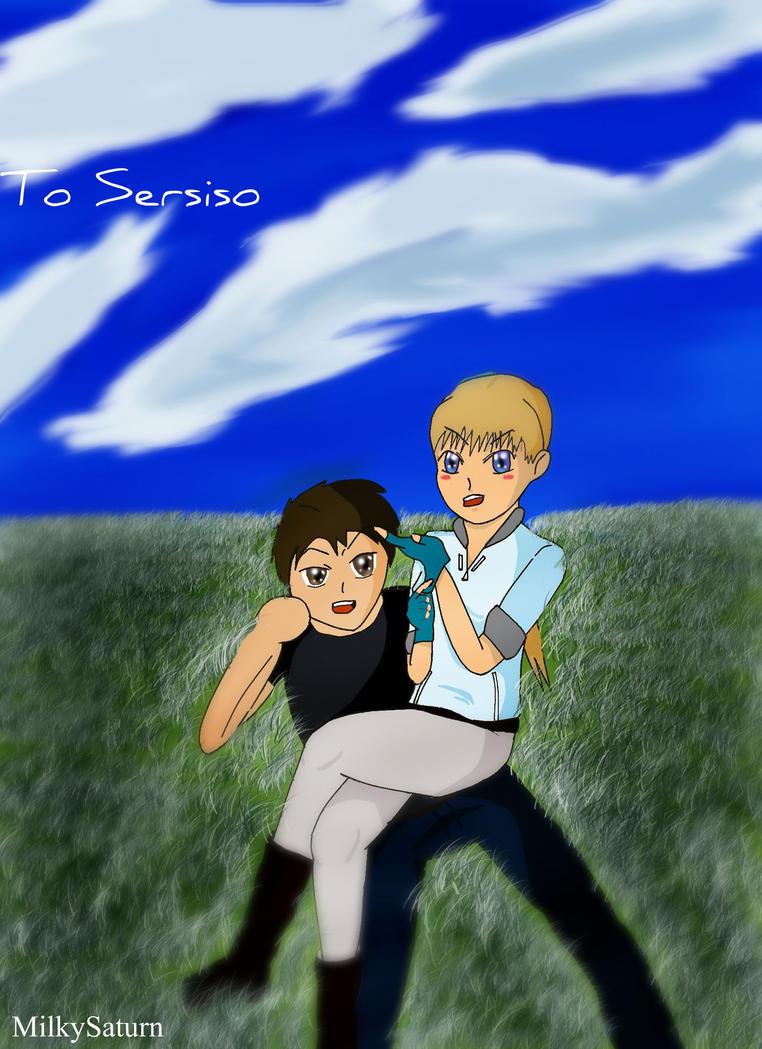 Sersiso and Jill Valentine by MilkySaturn