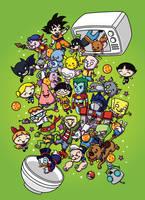 Cartoon Cereal by vanja