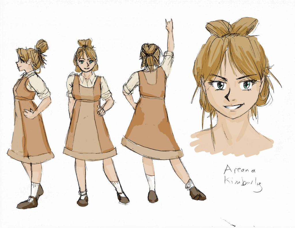 Character Profile: Areana Kimberly by Meagharan