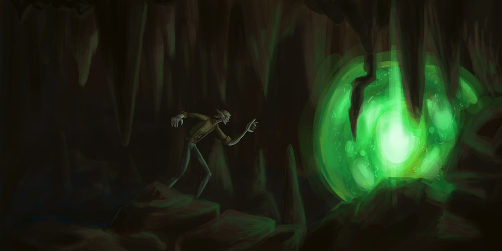 Deep in the Cave by Meagharan