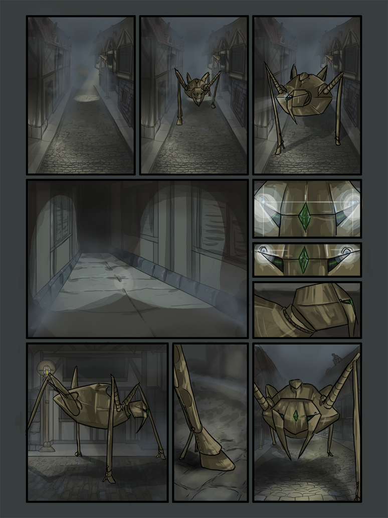 ShardFall Prologue, Page 1 by Meagharan
