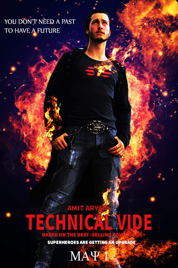 Movie poster design on Adobe Photoshop cc 2019