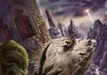 The Dark Battle by ZilerWolf