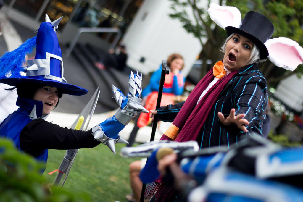 League Of Legends Cosplay-A Wild Xin Zhao Appered! by ...