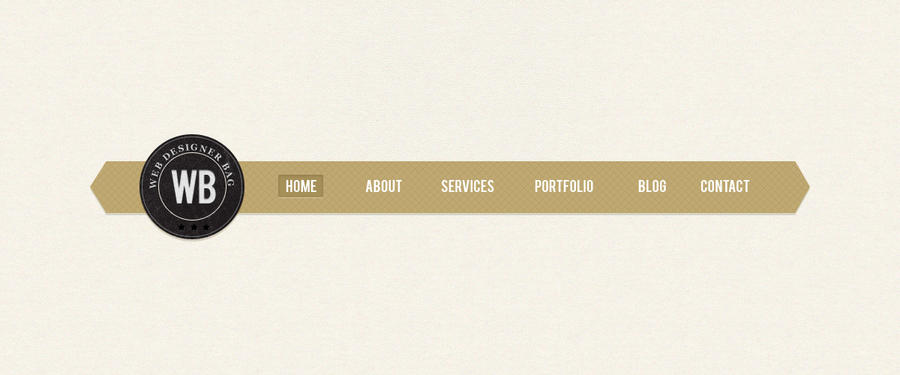 Navbar Design: Retro Web Menu Bar PSD By Webdesignerbag On DeviantArt
