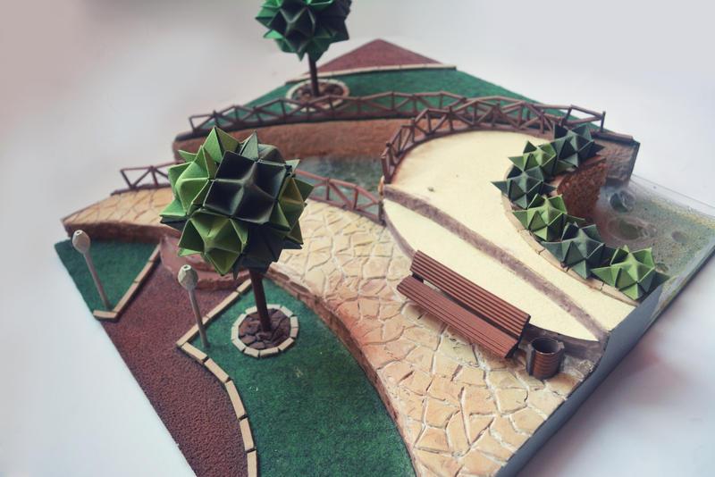 Landscape park design by mikromozg on deviantart for Xd garden design
