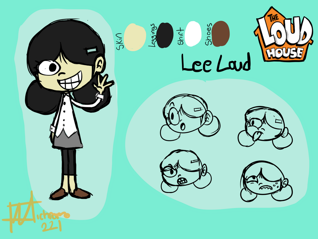Lee Loud [The Loud House OC] by Nichromo221