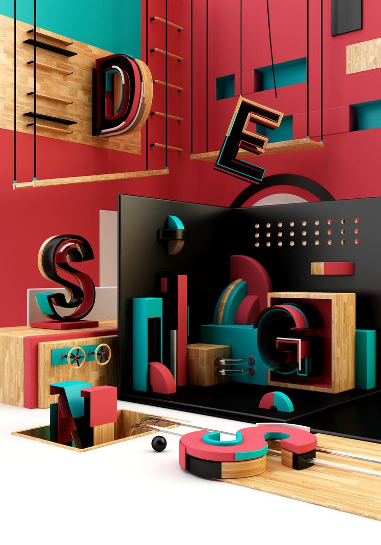 Design.s   International student design biennial by K0M0X