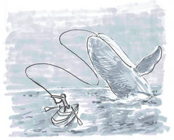 Inktober 2018-Day 12-Whale
