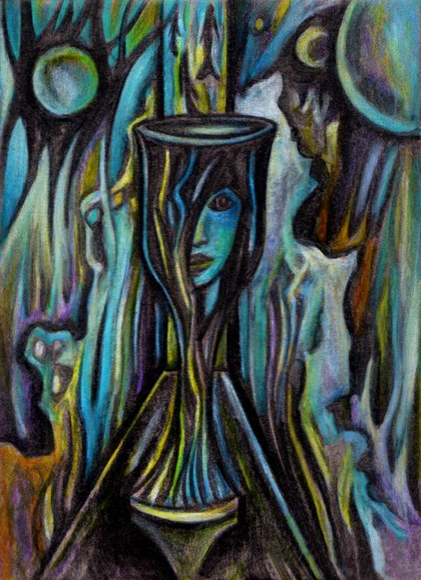 Cosmic Glass by munrue