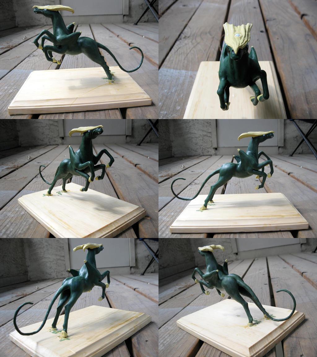 Sculpture Montage: Hexungulate by Poofiemus