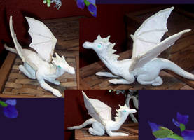Ruth, the White Dragon by Poofiemus
