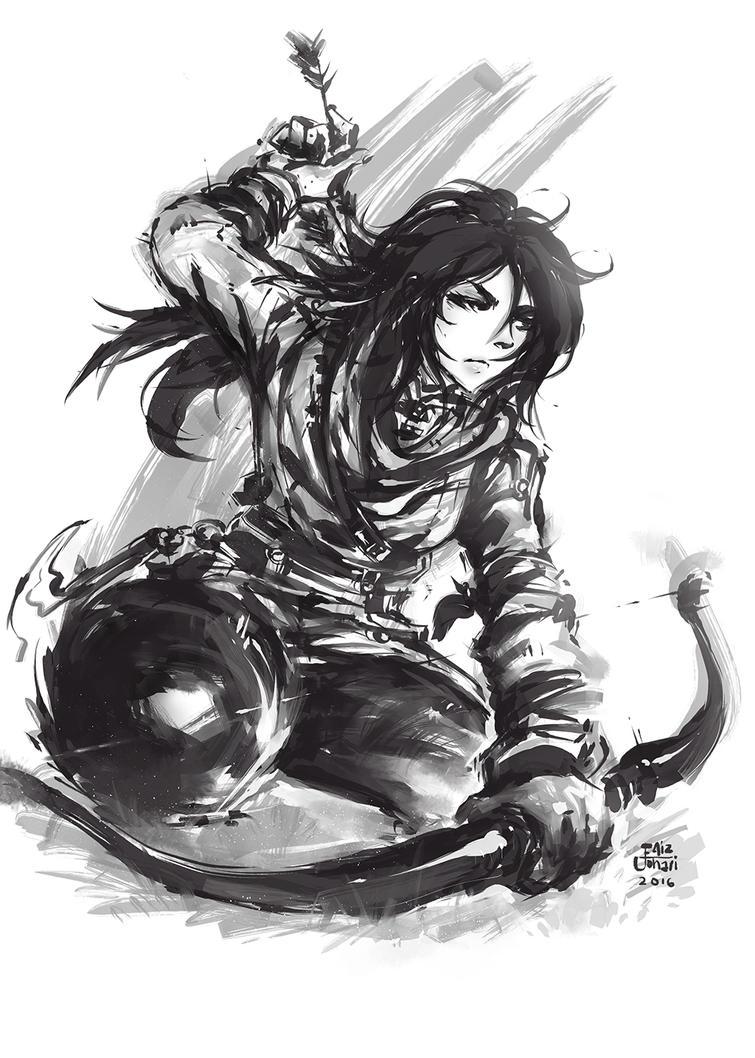 Lara Croft: Rise of the Tomb Raider by purplewurks