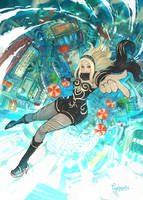 Gravity Rush 2 by purplewurks