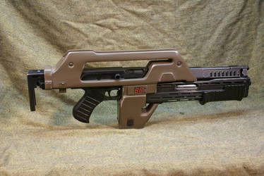 Aliens USCM M41A Pulse rifle by Matsucorp