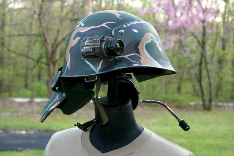 Aliens USCM Helmet refurb by Matsucorp