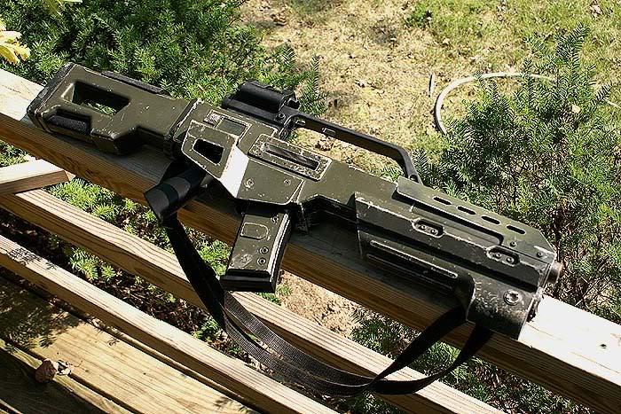 Doom assault rifle by Matsucorp