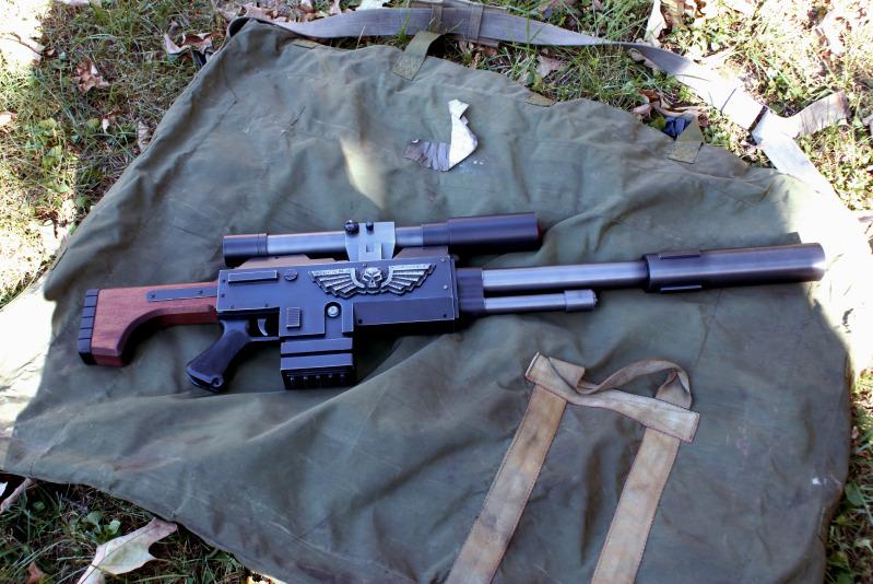 Warhammer 40k long Las Sniper by Matsucorp
