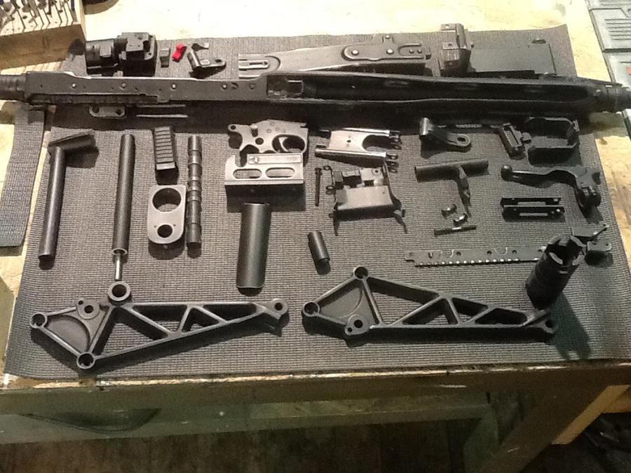 M56 smart gun field stripped by Matsucorp