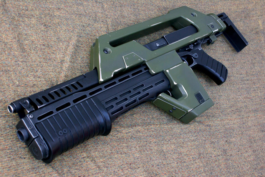 Aliens M41A Pulse Rifle by Matsucorp