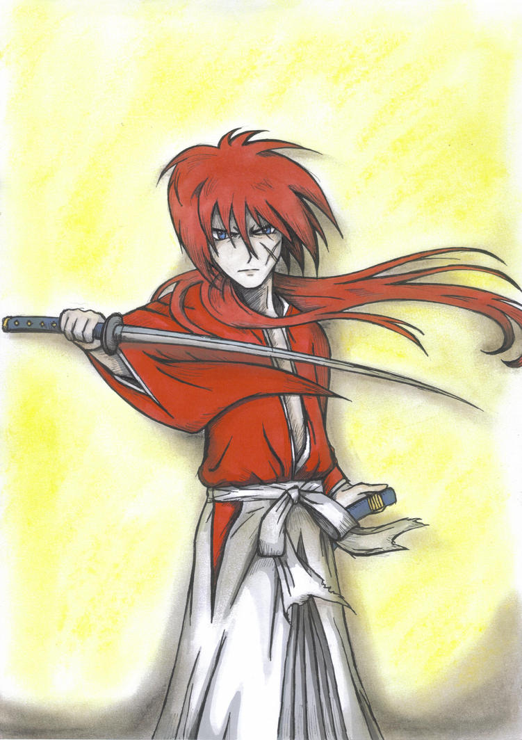 Rurouni Kenshin by mythicamagic