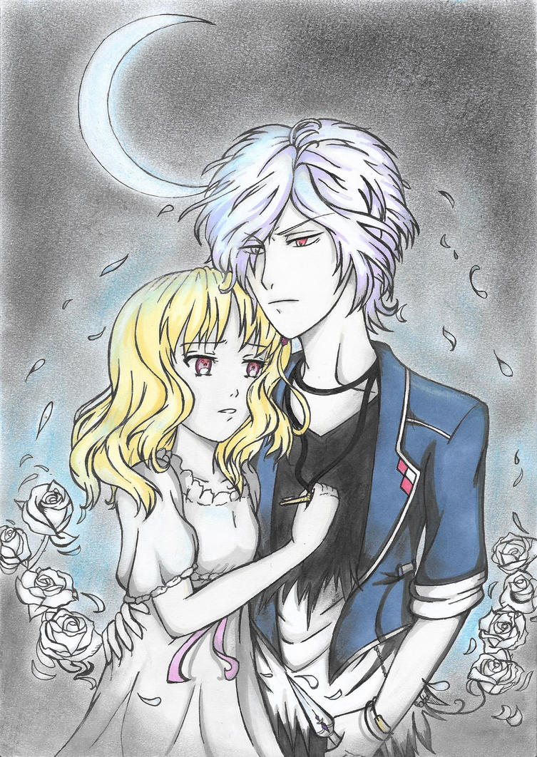 Subaru x Yui - The White Rose by mythicamagic