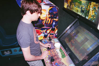 Arcade Play I by VeggieSandwiches
