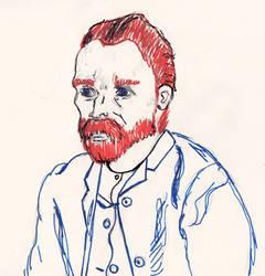 van Gogh Portrait by VeggieSandwiches