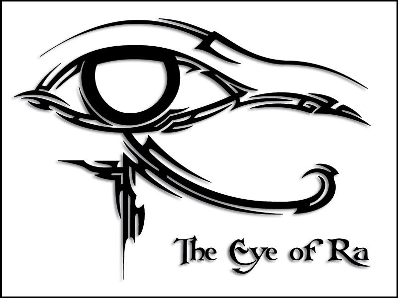 Tribal Eye of Ra by ~taranthor on deviantART