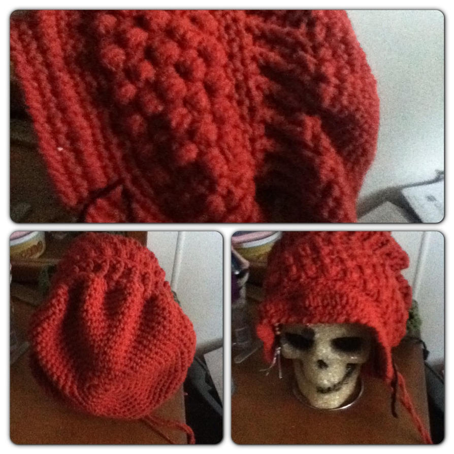 crochet hat- (maledora's creations) by Clix69