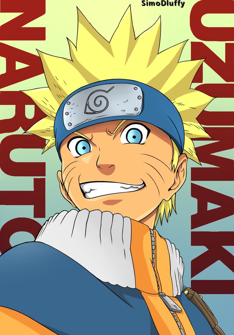 Anime School Book Cover : Naruto uzumaki artbook poster by simodluffy on deviantart