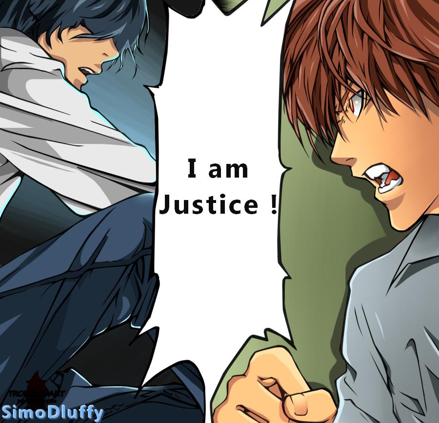L versus Raito  Watashiwa Seigi Da ! by SimoDLuffy