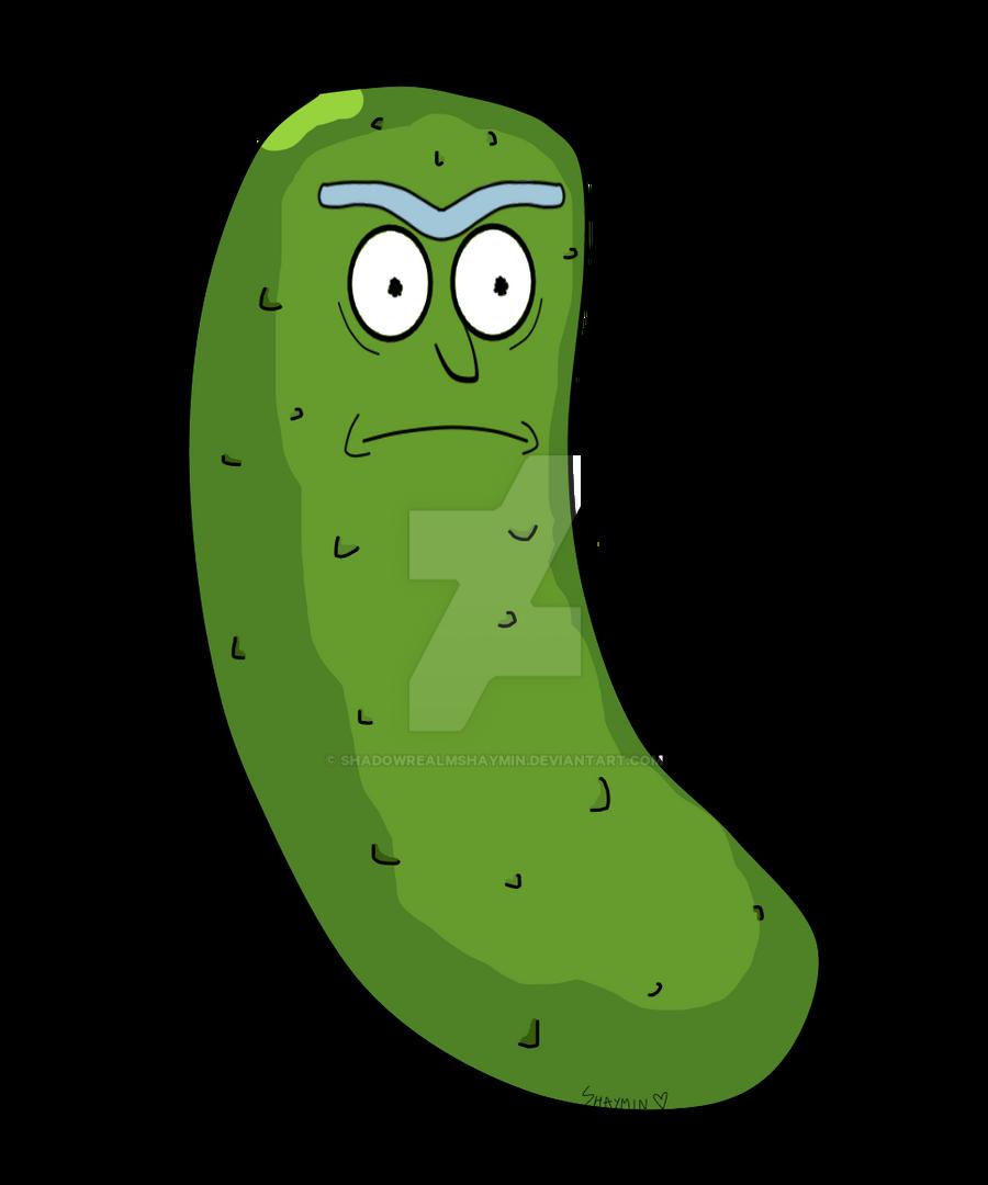 Pickle Rick by ShadowRealmShaymin on DeviantArt