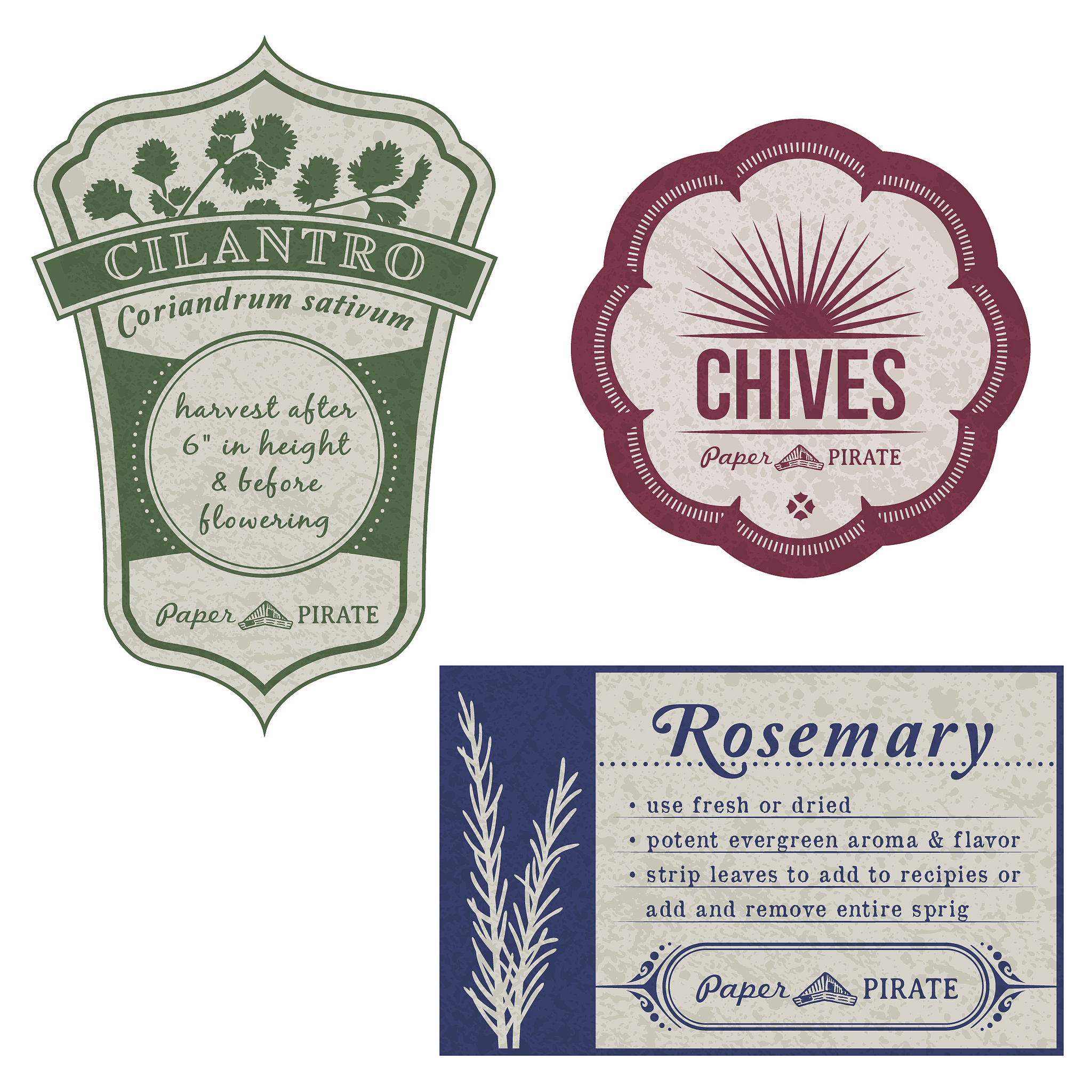 herb garden jar labels by newspaperpirate on deviantart