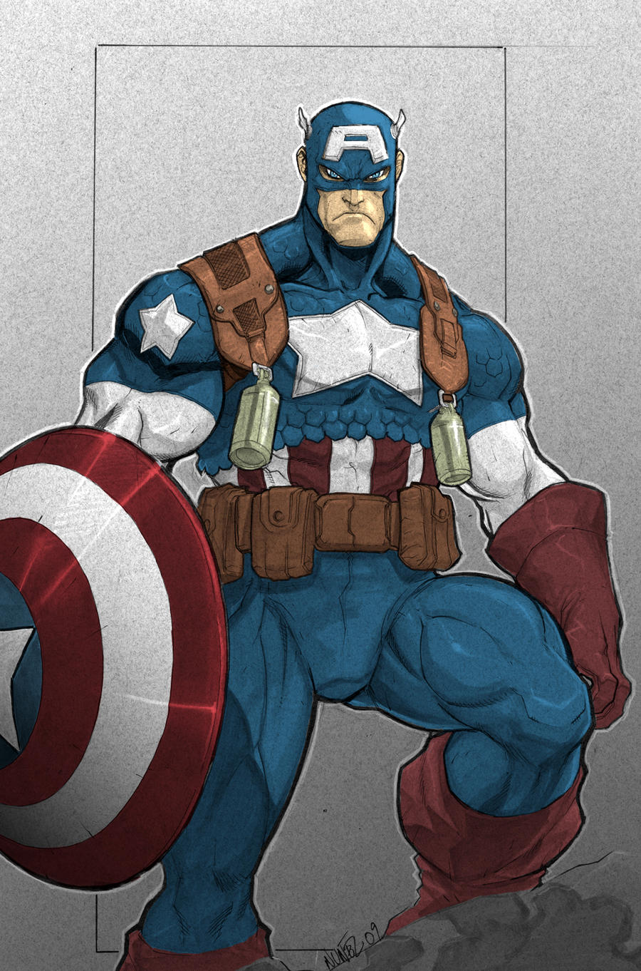 Cpt. America by gonzo723