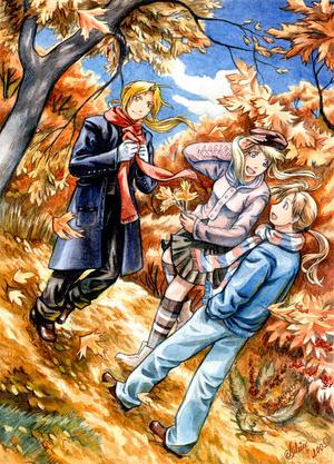 Autumn Contest 3 Winner by fullmetal-alchemists