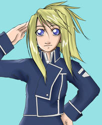Military Winry by Shortkid