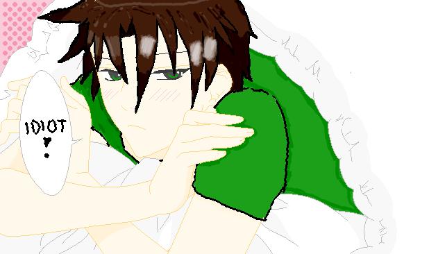 Teito blushing by Gaara-fani on deviantART Gaara Blushing