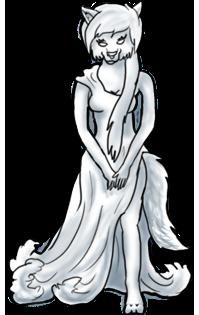 Anthro Dress Pose (FREE) by BluuWynter