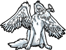Angel Wolf (FREE) by BluuWynter