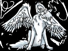 Angel Wolf (FREE) by BluuWynter