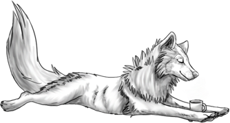 Coffee Wolf (FREE) by BluuWynter