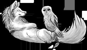 Tribal Wolf (FREE) by BluuWynter