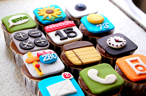 Application Cupcakes by tarepandas