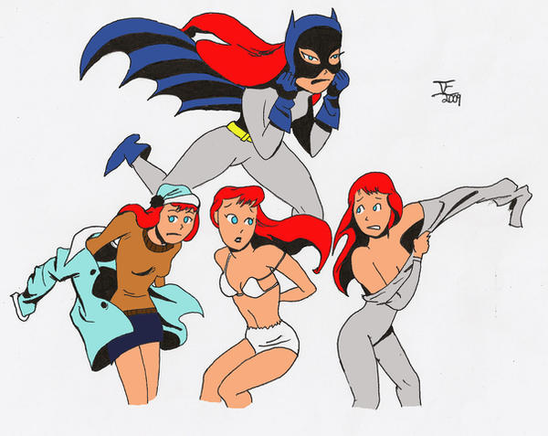 Batgirl bruce timm