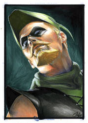 DC Legacy: Green Arrow by gattadonna