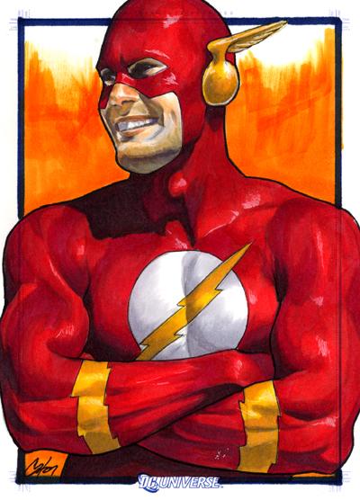 DC Legacy: Flash by gattadonna