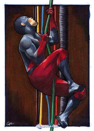 DC Legacy: Atom by gattadonna