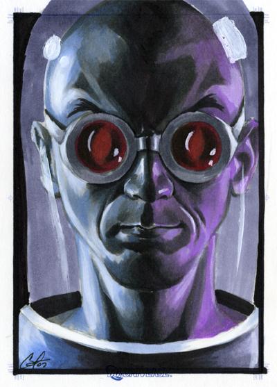 DC Legacy: Mr. Freeze by gattadonna